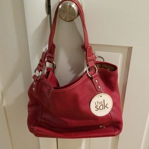 The Sak cherry red purse